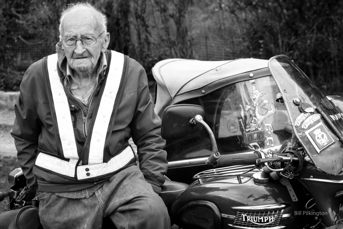 Harry, the 91 year old biker