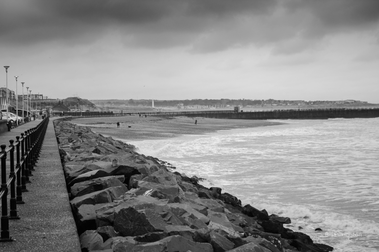 seaham on a winters day
