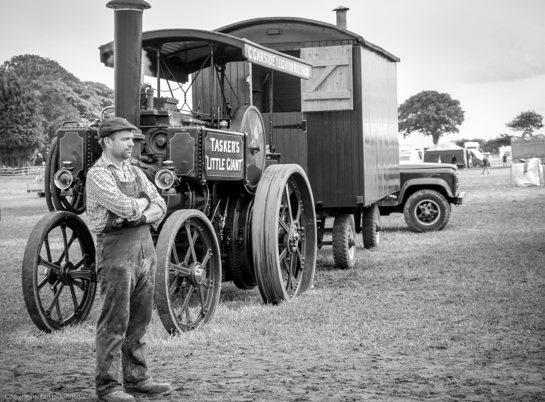 taskers little giant steam traction engine