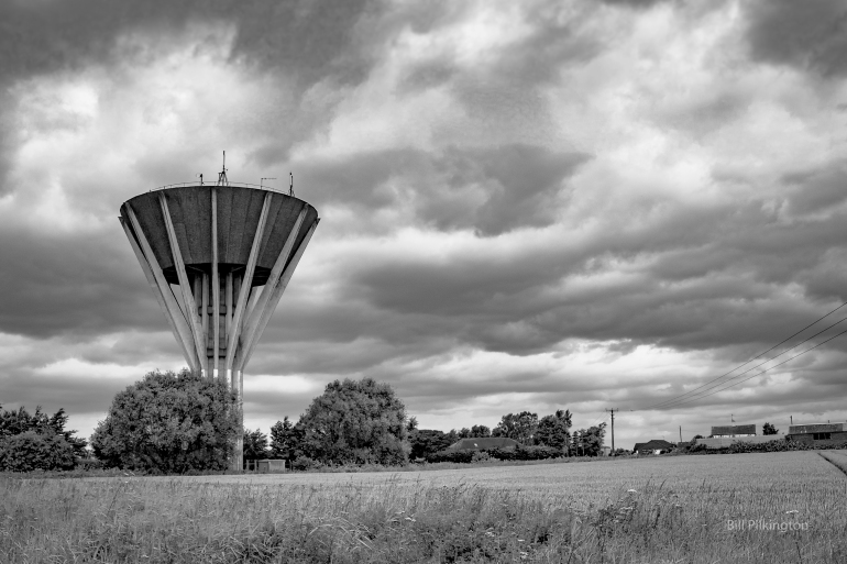 water tower in lincs