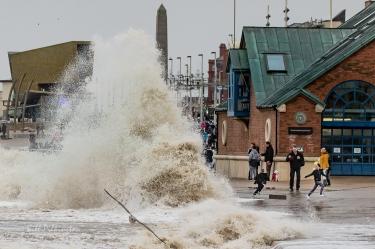 Storm Brian hits Blackpool-1-4