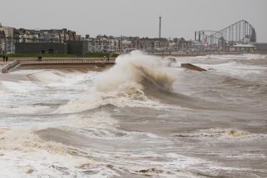 Storm Brian hits Blackpool-1-9