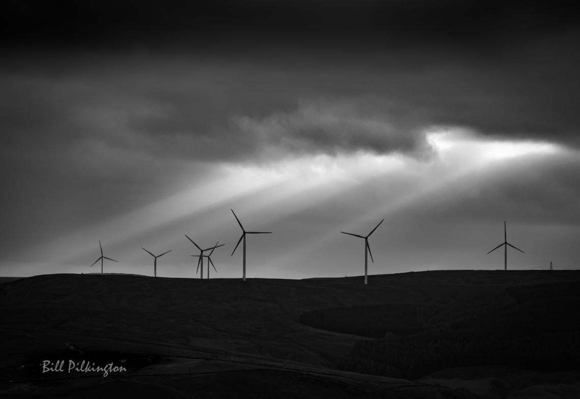 windturbines at dusk-1